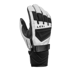 Lyžiarske rukavice LEKI Griffin S White/Black/Graphite