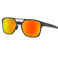 OAKLEY Latch Alpha Matte Blk w/PRIZM Ruby Pol