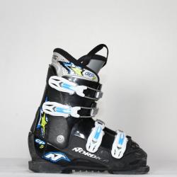 Jazdené bazárové lyžiarky NORDICA GP TJ Black/blue
