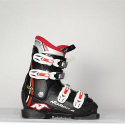 Jazdené bazárové lyžiarky NORDICA GP TJ Black/red