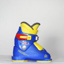 Jazdené bazárové lyžiarky TECNO Pro TO1 Junior Racing blue/yellow