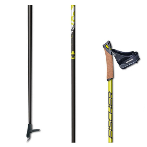Bežecké palice FISCHER RC5 QC Black/Yellow