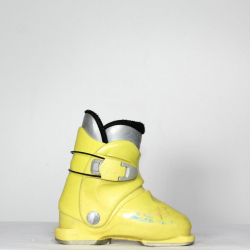 Jazdené bazárové lyžiarky ROSSIGNOL R18 Yellow