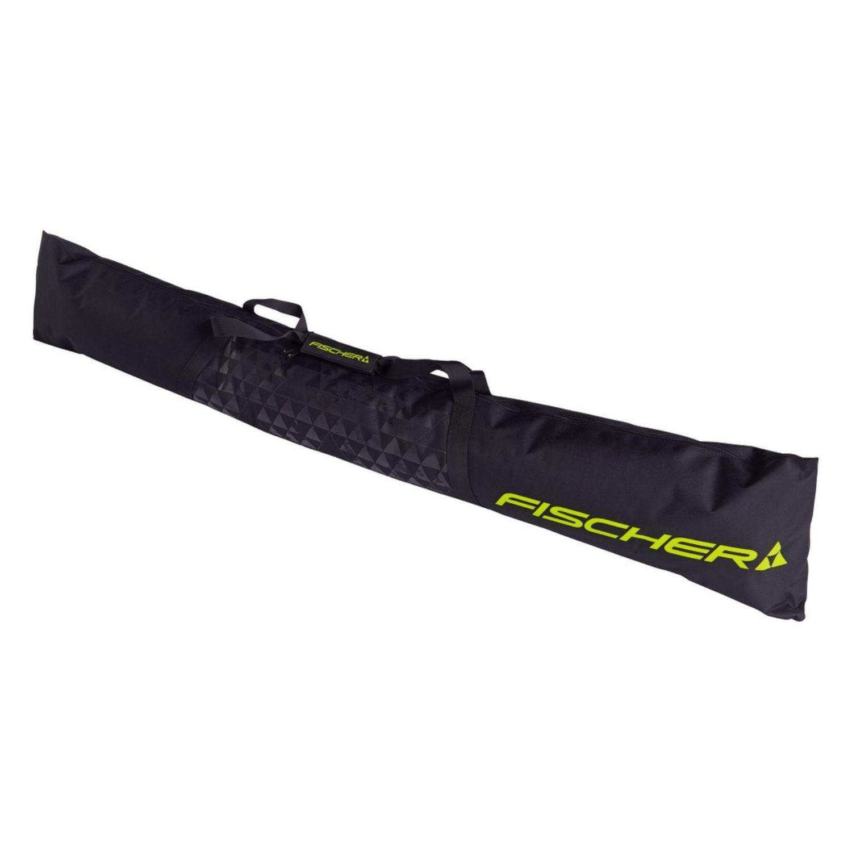 Vak na bežky FISCHER Skicase XC Eco 1 Pair Junior Black Čierna