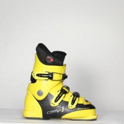 Jazdené bazárové lyžiarky ROSSIGNOL Comp J Yellow
