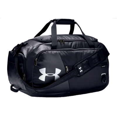 UNDER ARMOUR Undeniable Duffle 4.0 MD Black/Black/Silver