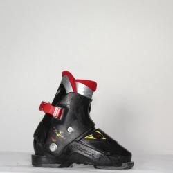 Jazdené bazárové lyžiarky NORDICA 0,1 Super Black