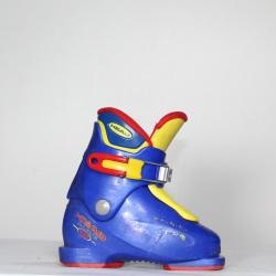 Jazdené bazárové lyžiarky HEAD Carve X1 Blue/Yellow
