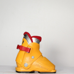 Jazdené bazárové lyžiarky NORDICA Orange/Red
