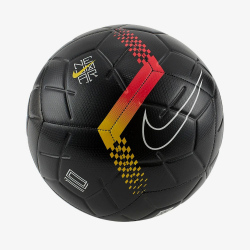 NIKE Neymar Strike Black/Chrome Yellow/Red Orbit