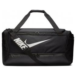 Športová taška NIKE Brasilia L 9.0 Black / White