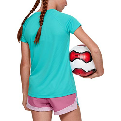Tričko UNDER ARMOUR Solid Big Logo Blue/Pink