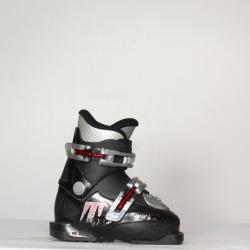 Jazdené bazárové lyžiarky TECNICA Black