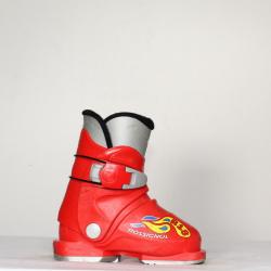 Jazdené bazárové lyžiarky ROSSIGNOL R18 Red II
