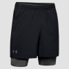 UNDER ARMOUR Qualifier 2 in 1 Black