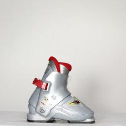 Jazdené bazárové lyžiarky NORDICA Super 0,1 Grey/Red
