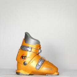 Jazdené bazárové lyžiarky TECNICA TJR Junior Orange