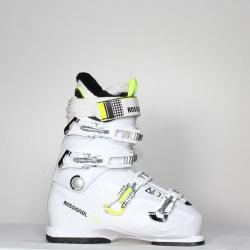 Jazdené bazárové lyžiarky ROSSIGNOL Kiara White/Yellow