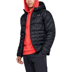 Bunda UNDER ARMOUR Armour Insulated Hooded Jkt Black