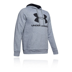 Mikina UNDER ARMOUR Rival Fleece Sportstyle Logo Grey