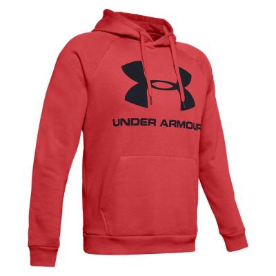 UNDER ARMOUR Rival Fleece Sportstyle Logo Martian Red/Black