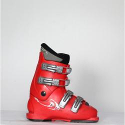 Jazdené bazárové lyžiarky Salomon T4 Red /Grey
