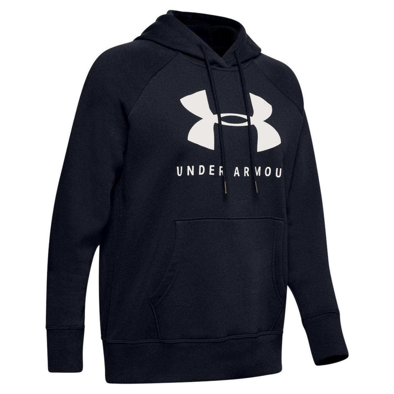 UNDER ARMOUR Rival Fleece Sportstyle Graphic Black Čierna XS