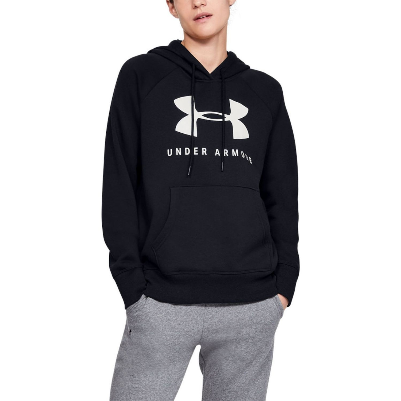 Mikina UNDER ARMOUR Rival Fleece Sportstyle Graphic Black Čierna M