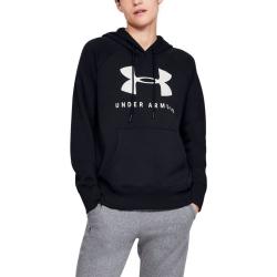 Mikina UNDER ARMOUR Rival Fleece Sportstyle Graphic Black