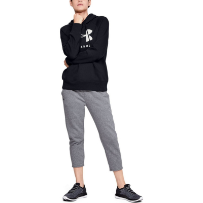 UNDER ARMOUR Rival Fleece Sportstyle Graphic Black
