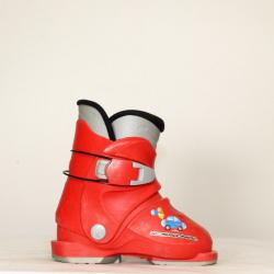 Jazdené bazárové lyžiarky ROSSIGNOL R18 Car Red
