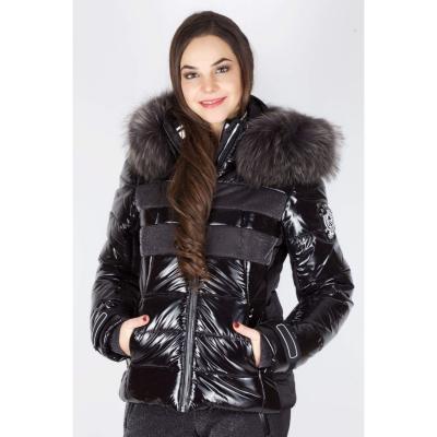 Bunda SPORTALM Juwel s kapucňou z pravej kožušiny