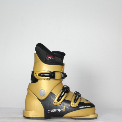 Jazdené bazárové lyžiarky ROSSIGNOL Comp Gold/Black 3
