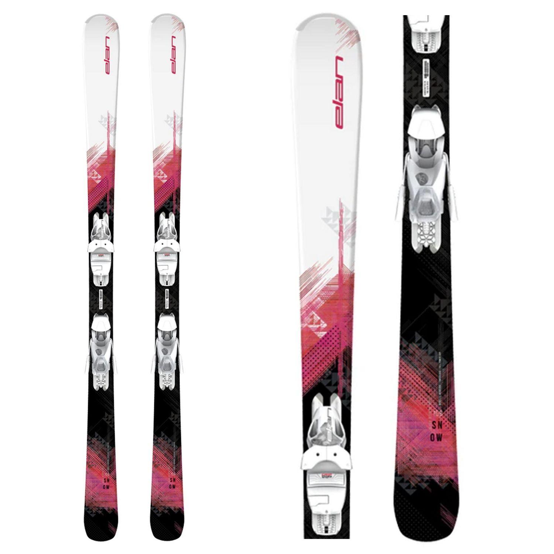 Zjazdové lyže ELAN Snow LS + EL 7.5 Biela 140 cm