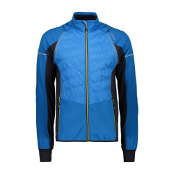 CAMPAGNOLO MAN Jacket Fix-Hood Blue
