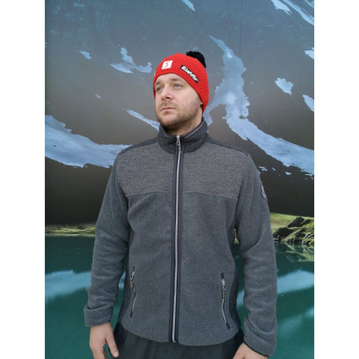 Mikina CAMPAGNOLO MAN Jacket Grey