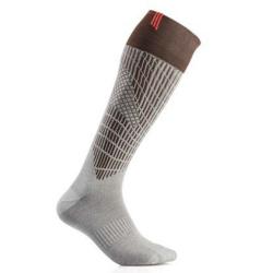 Lyžařské ponožky SIDAS Ski Merino Brown/Grey