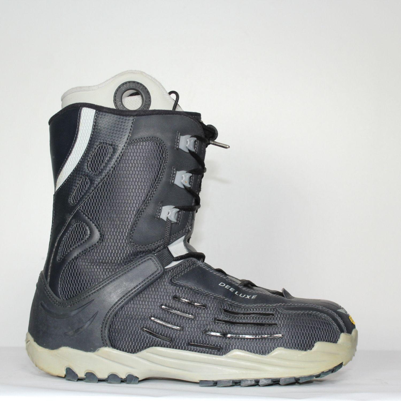 Jazdené Poškodené Snowboardové topánky DEELUXE 32.0
