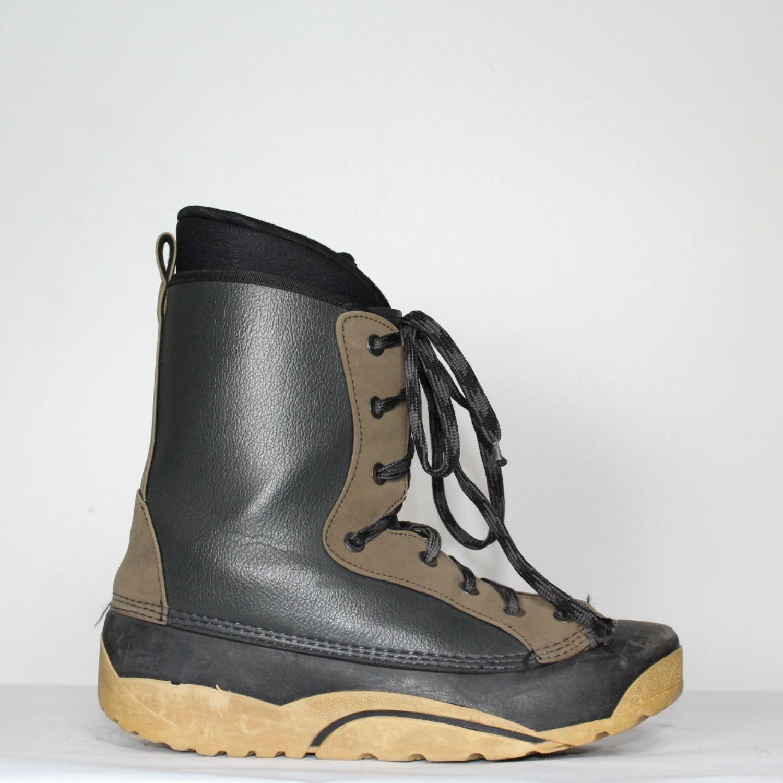 Jazdené Snowboardové topánky WORKER Black/Brown 28.5