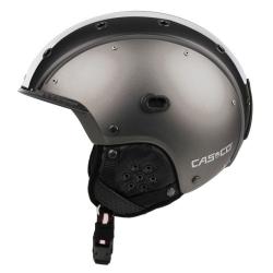 Lyžiarska prilba CASCO SP-3 Comp. GunMetal/White