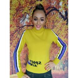 Sveter SPORTALM Chenila Yellow