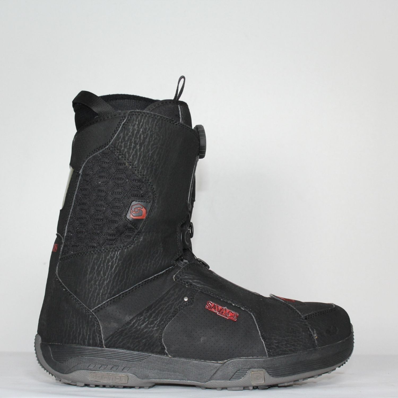 Jazdené Snowboardové topánky SALOMON Savage 31.5