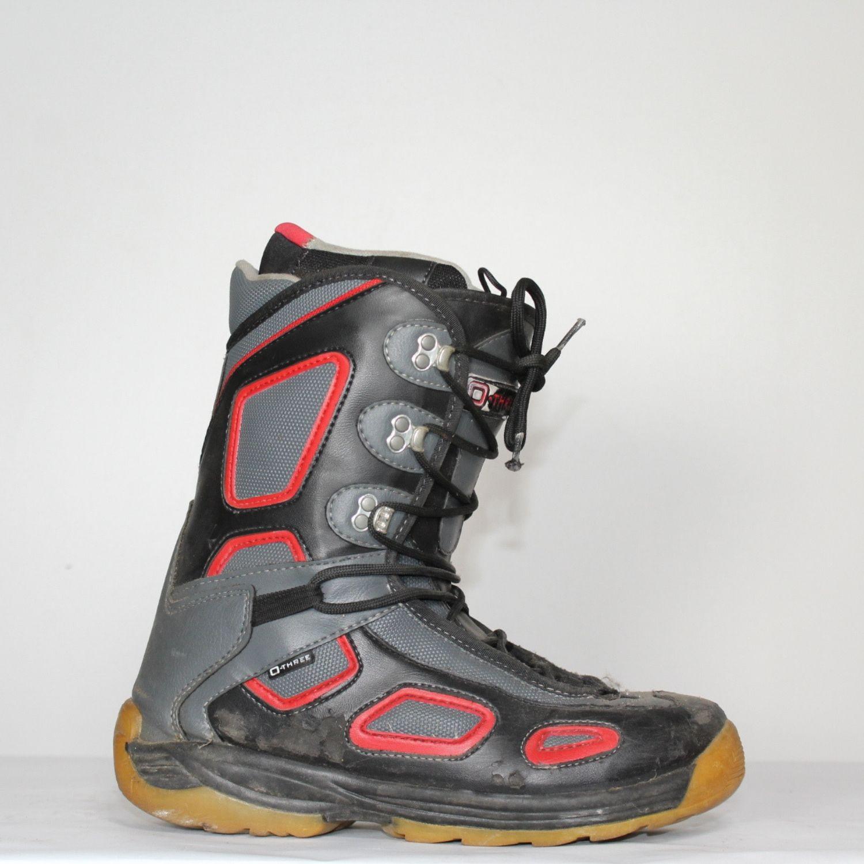 Jazdené Snowboardové topánky O-THREE 27.5