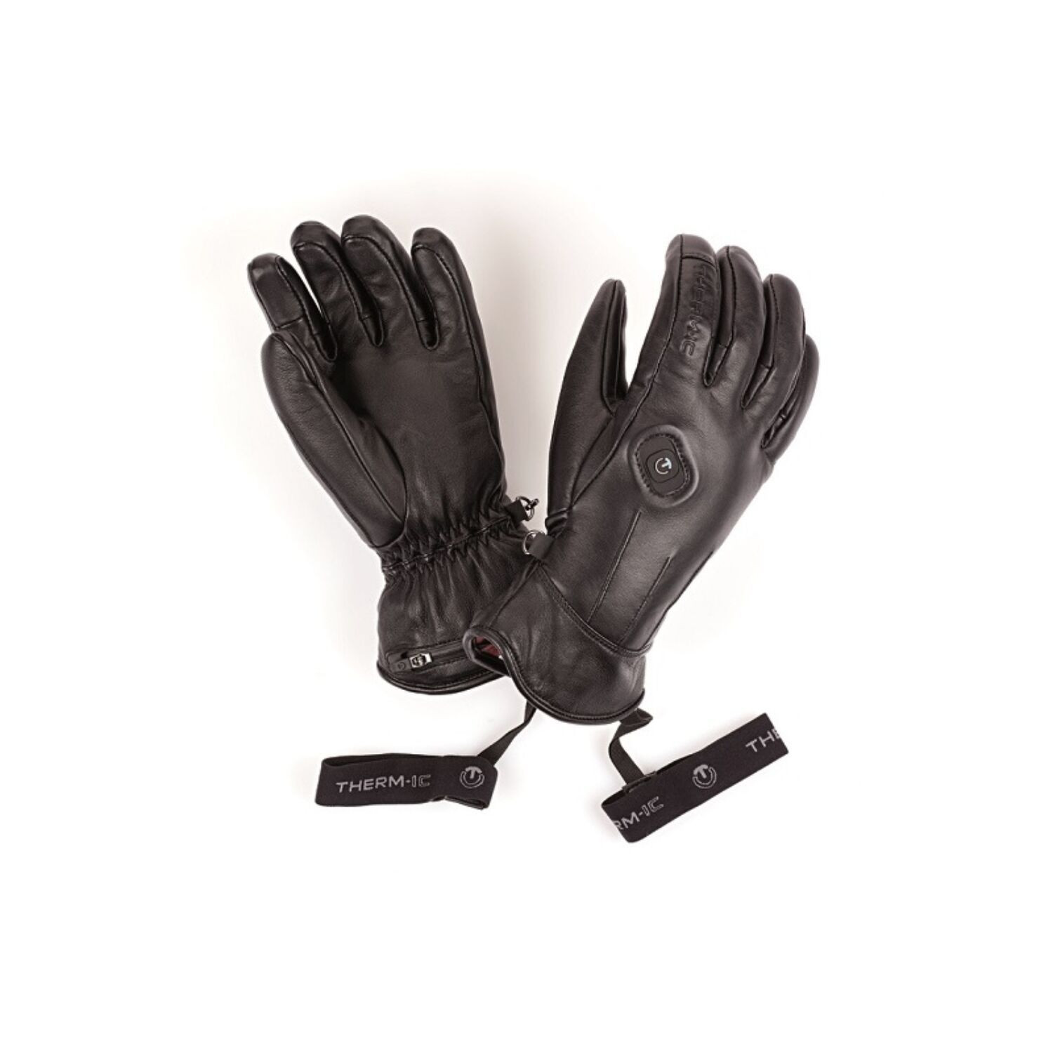 Vyhrievané rukavice THERM-IC PowerGloves Leather Ladies Black Čierna L