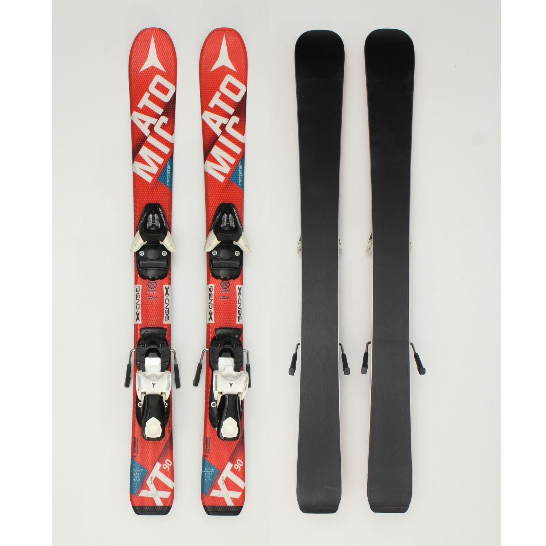 Jazdené bazárové lyže ATOMIC Redster XT Red 140 cm