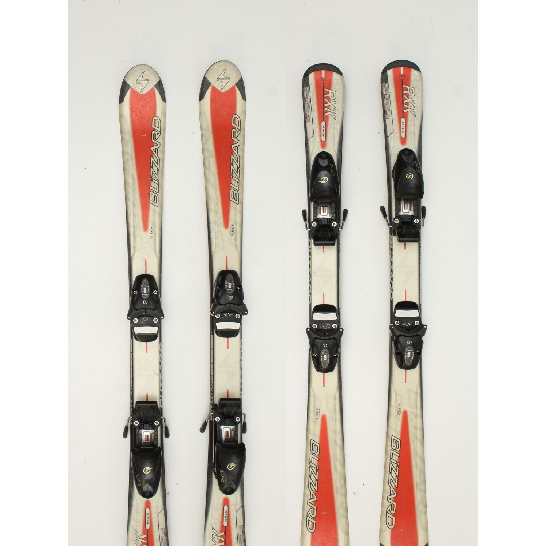 Jazdené bazárové lyže BLIZZARD RXK Race 120 cm