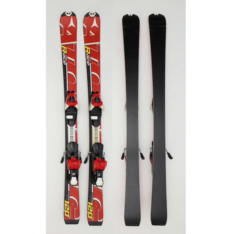 Jazdené bazárové lyže ATOMIC Race Red II 120 cm