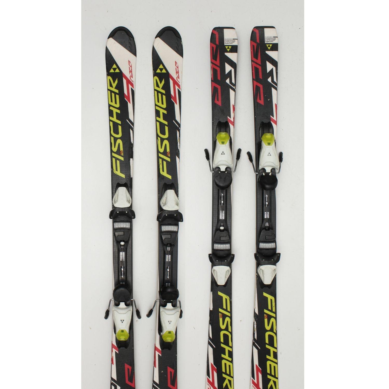 Jazdené bazárové lyže FISCHER 4 Race 120 cm