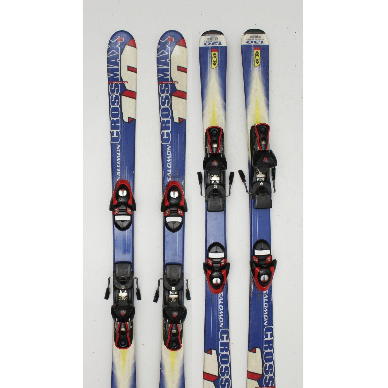 Jazdené bazárové lyže SALOMON Cross Max T 130 cm