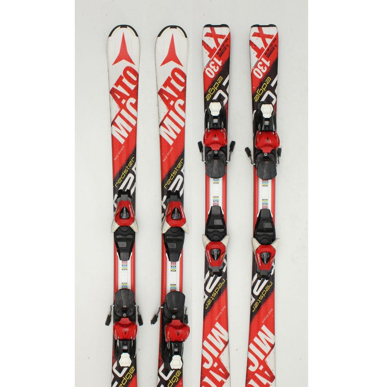 Jazdené bazárové lyže ATOMIC Redster Race III 130 cm